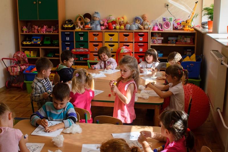 sala edukacyjna - przedszkole w Dąbkowie